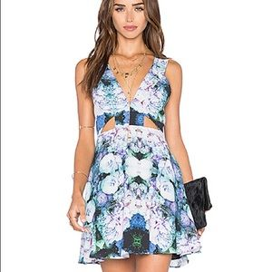 Dresses & Skirts - X NAVEN TWINS ASK ME OUT MINI DRESS IN LILAC ROSE